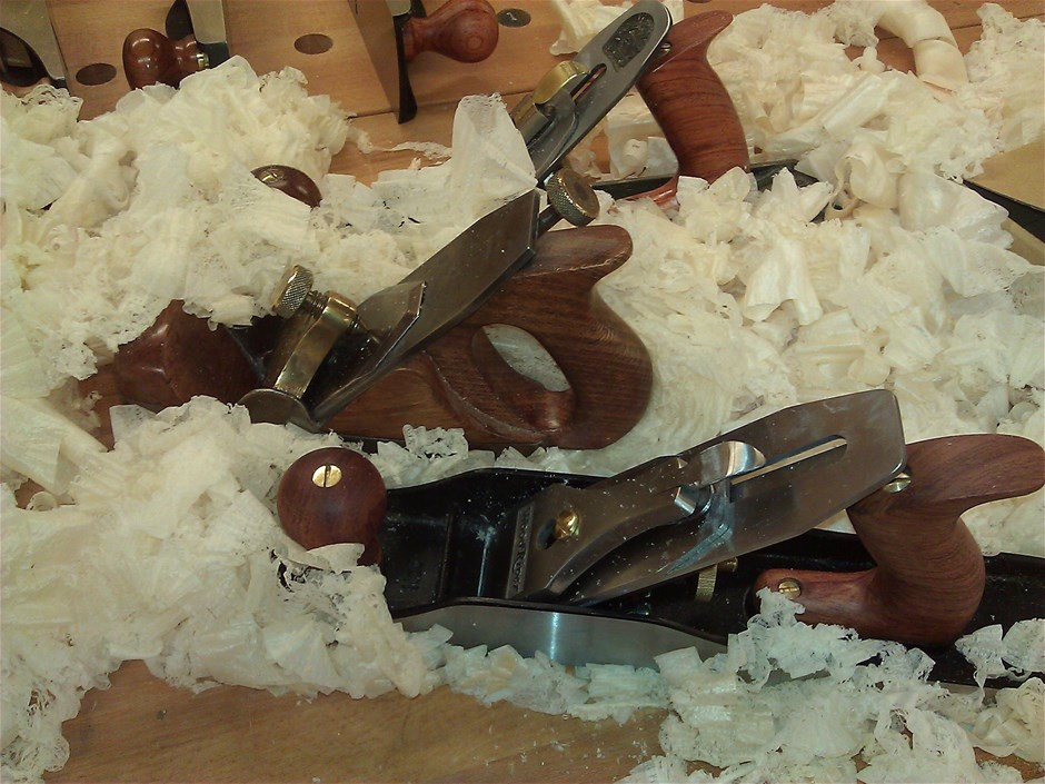 Three Planes and Shavings