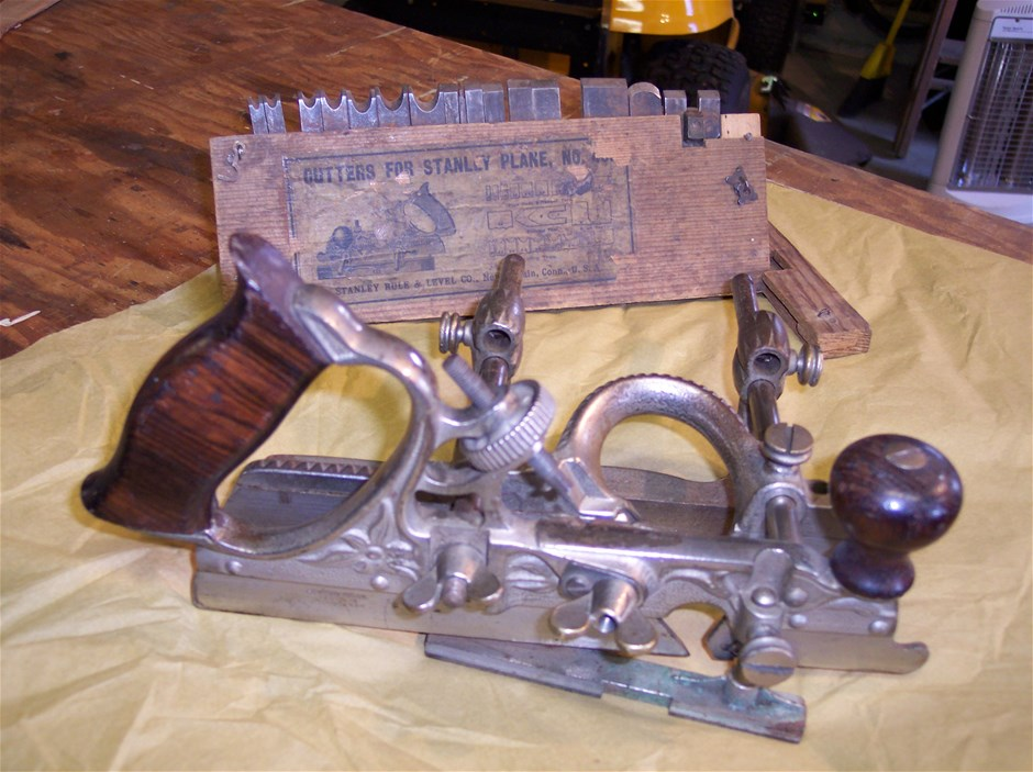 Old  # 45  Stanley Plow plane